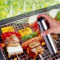 Wholesale Bottle Oiler - Olive Pump Spray Bottle Oil Sprayer Oiler Pot BBQ Cooking Tool Pot Cookware Tools Oil Bottle Sprayer Can Oil Jar Pot Tool KKA1882
