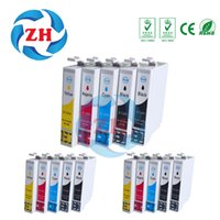 Wholesale Sx125 Ink Cartridges For Epson - 15 PCS ink cartridges T1281 T1282 T1283 T1284 T1285 Compatible for Epson SX125 SX130 SX230 SX235W SX420 SX425 Printer