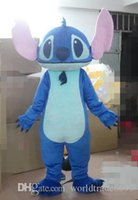 Wholesale Lilo Stitch Mascot - 2017 hot new Custom Made animal mascot Lilo & Stitch Mascot Costume Stitch Mascot Costume Lilo & Stitch Costume
