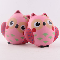 Wholesale Lifelike Dolls China - New Charming Pink Owl Lifelike China Dolls Relaxation Squeeze Hand Lepin Stress Relief Gags Jokes Receiver Kids Toys