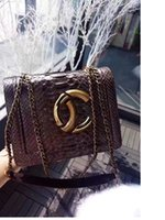 Wholesale Silver Beautiful Bags - fashion women luxury python skin small size 20cm party bag, super beautiful vintage shoulder bag,original package women bags free shipping