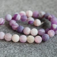 Novo NecklaceBracelet 10mm Multicolor Purple Natural Frosted Agate Beads Round Jasper jade Loose cornalina 15inch Jóias