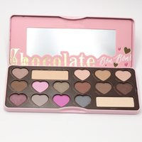 Wholesale Eyeshadow Palette Fashion Cosmetics - Faced Chcolate Bar Eyeshadow Palette New Brand Famous Fashion Women Urban Makeup Waterproof Natural 16 Colors Cosmetic Factory Direct Wholes