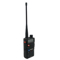 Hones Telecomunicações Walkie Talkie BaoFeng UV-5R Walkie Talkie Black CB Two Way Radios VHF / UHF 136-174400-520MHz Dual Band Amate ...