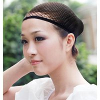 Wholesale Snood Net For Hair - 1 Pc Fashion Stretchable Mesh Wig Cap Elastic Hair Snood Nets for Cosplay Shipping L04176