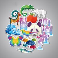 Wholesale Sticker Bombing Mirrors - 35pcs set Funny Car Stickers on Motorcycle Suitcase Home Decor Phone Laptop Covers DIY Vinyl Decal Sticker Bomb JDM Car styling