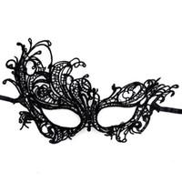 bola de mascarada regalos al por mayor-Encaje fénix princesa Color mezclado máscara facial de Halloween Masquerade Cosplay regalo de halloween Bola veneciana Prom Glowing LED Máscara de plumas