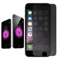 закаленное стекло для галактики samsung a8 оптовых-Конфиденциальность Закаленное стекло-экран Анти-шпион 9H Защитная пленка для iPhone 11 Pro Макс XS XR X 8 7 6 Плюс Samsung Galaxy S9 A6 A8 J2 J8 Pro