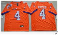 Wholesale Romo Football Jerseys - Clemson Tigers #4 DeShaun Watson American College Football Stitched Embroidery Elite Dallas #9 Tony Romo Mens Sports Pro Team Jerseys Cheap