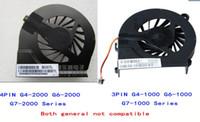 Wholesale Hp G42 Cooler - 3 pin and 4 pin FAR3300EPA Cool fan for HP pavilion G6-2000 G4T G7-2000 G6 G56 G7 CQ56 G42 CQ62 G62 G4-1000 FAAX000EPA MF75120V1-C050-S9A