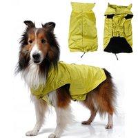 Wholesale Nylon Dog Coats - Pets Apparel Dog Clothes Waterproof Jackets Durable Soft Comfort Nylon Dog Jumpsuits Vest Design Cloth Multi Colors Size M L XL