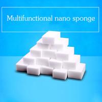 Wholesale Magic Cleaning Gel - Multi-function 10*6*2 cm white magic cleaning melamine sponge Eraser High quality magic sponge magic super cleaning gel