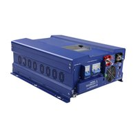 Wholesale Inverter Generators - Off Grid 10KW 48V 240V Solar Inverter with Battery AC Charger, 30KW Surge Power, Auto Generator Starting