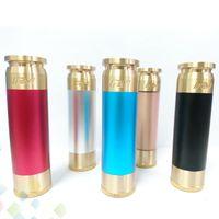 ingrosso ottone in grado mod-Vaporizzatore Able Mod AV stile Mech sigaretta elettronica clone in forma 18650 batteria meccanica Mod 4 colori in ottone materiale DHL libero