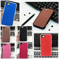 Wholesale Pink Iphone Case 4s - Fashion Van Waffle Silicon Shoe Design phone Case 3D Soft Rubber gel back cover case for iphoneX iphone8 plus 7 6splus 5S SE 4S