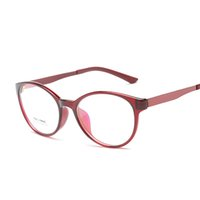 Wholesale Laurafairy FashionTR90 Light Weight Eyeglass Round Classical Full Rim Men Women Optical Glass Frame Vintage Retro Preppy Style