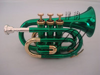 Wholesale Manufacturer Sale Bb Pocket Trumpet Play the Classic Music big french horn instrumentos musicais profissional