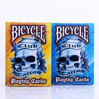 Bicycle Club Tattoo V2 Naipes 88 * 63mm Tarjetas de Papel Magic Poker Card Magic Trick Collection Card