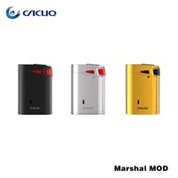Wholesale E Power - SMOK Marshal G320 TC MOD 220W-320W E Cigs Box Mod Powered By 18650 Battery For SMOK TFV8 Big Baby Tank 100% Original