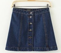 Dropshipping Plus Size Womens Denim Skirts UK | Free UK Delivery ...
