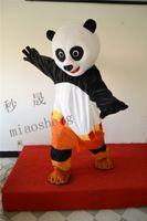 mascotes de urso adulto venda por atacado-Kung Fu Urso traje da mascote de alta qualidade fantasia vestido adulto tamanho festa do Dia Das Bruxas, roupas de festa de natal
