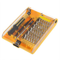 Wholesale High Quality Cell Repair Tools - 1set Free Shipping High Quality 45in1 Torx Precision Screw Driver Cell Phone Repair Tool Set Tweezers Mobile Kit hot search