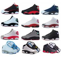 Wholesale Hottest Game Online - Air man woman Basketball shoes Retro 13 bred flints grey toe He Got Game hologram barons sport sneaker For hot online sale