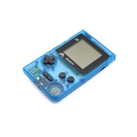 """Wholesale Pocket Game Player - Kong Feng GB Boy Pocket Handheld Game Console 2.45"""" Game Player with Black and White display screen Color Clear Blue"""