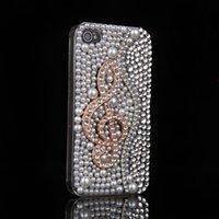 Wholesale Pearl Iphone Case Cover - 50PCS For iphone 7 7plus 6splus 6 6plus 5s pearl Note Rhinestone phone case Diamond case Phone cover
