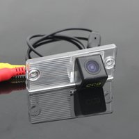 Wholesale Lamp For Up Car - For KIA Sephia Car Reverse Back Up   Parking Camera   CCD RCA NTST PAL   License Plate Lamp OEM