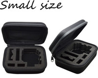 Wholesale Shock Camera - Portable Carry Case Small Medium Large Size Accessory Anti-shock Storage Bag for Hero 3 4 Sj 4000 XiaomiYi Action Camera