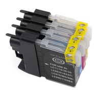 Wholesale ink dcp - LC39 Ink cartridges for Brother LC985 DCP-J315W MFC-J415W MFC-J220 DCP-J125 printer cartridges
