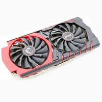 Wholesale Msi Cooler - Wholesale- computer cooler radiator with heatsink heatpipe cooling fan for MSI GTX970 GAMING 4G GTX 970 4G100E grahics video card cooling