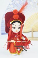 Light Yellow palace beijing - Mulan three dimensional human face doll cartoon doll gift gift to the Imperial Palace foreign affairs Beijing doll