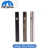 Wholesale Hot Selling Original - 100% Original Itsuwa Amigo Max Preheat Battery Hot Selling Preaheating Variable Voltage Bottom USB Charging Vape Battery Vaporizer