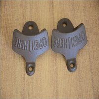 Wholesale Wholesale Beer Bottles For Sale - Wall-Mounted Opener Beer Bottle Opener Cast Iron Retro Opener for Kitchen Factory Direct Sale 2015 New Fashion