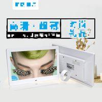 Wholesale Full Albums - 10 inch digital photo frame electronic photo album gift HD LED full format advertising machine