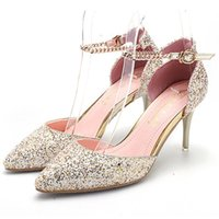 Wholesale Shop Cheap Sandals - New Listed Women Heels Online Shopping Buy Sandals Cheap Pumps Fashion Ladies Footwear Online Sexy Night Clubs Girls Popular Shoes Purchase