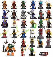 Wholesale marvel shipping - 31pcs Ninjago figures marvel super heroes minitoy building blocks figures bricks toys action figure free shipping