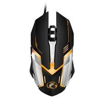 best led optical usb mice - Free Shipping High Quality Professional Wired Gaming Mouse V6 5000 DPI LED Optical USB Wired Computer Mouse Mice Cable Mouse
