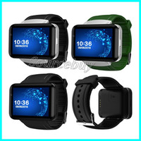 2.2 pulgadas de Bluetooth Smart Watch DM98 MTK6572 Dual Core 1.2GHz 512MB de RAM 4GB ROM de la cámara WCDMA GPS 3G Smartwatch teléfono