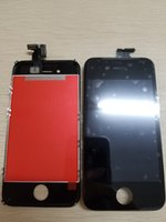 Wholesale Wholesale 4s - For iphone 4 4S LCD display Assembly with touch screen Digitizer Replacement white and black