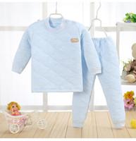 Wholesale Babies Underwear - 2017 new autumn and winter children 's suits cotton boy clothes baby underwear warm thickening baby clothes kids clothing