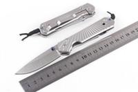 cuchillos de camping plegables de mejor calidad. al por mayor-Chris Reeve navaja de bolsillo EDC Facas Outdoor Survival cuchillo de camping Alta calidad 5Cr15 Blade mejor regalo Envío gratis