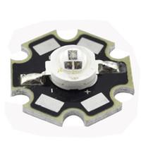 Wholesale 3w Led Emitter Star - Wholesale- 3W Infrared IR 940NM High Power LED Bead Emitter DC1.5-1.7V 750mA w 20mm Star Platine Base