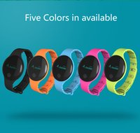 Wholesale Christmas Email - Bluetooth wristband christmas gift Screentouch multilingual Pedometer multifuctional Fitness Activity Tracker Smart Bracelet For Android IOS