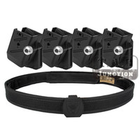 Wholesale Speed Magazine Pouch - Wholesale- IPSC USPSA IDPA Competition High Speed Shooting Inner & Outer Belt w  4x Universal CR Speed Shooter's Pistol Magazine Pouch