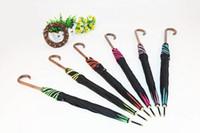 Wholesale Petal Fold - 8K new Creative Uv hook straight shank fashion petals sunshade Sunny and rainy umbrella free shipping
