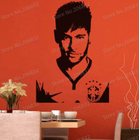 Wholesale Tinkerbell Wall Decal Stickers - tickers tinkerbell Free shipping Wall Stickers Wholesale and retail Wall decor PVC material decals wallpaper football star World Cup Z-...