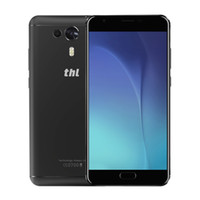 Wholesale Thl Wholesale - Wholesale Fingerprint 4G Smartphone 5.5 Inch Android 7.0 Octa Core 3GB RAM 32GB ROM 3100mAh THL Knight 1